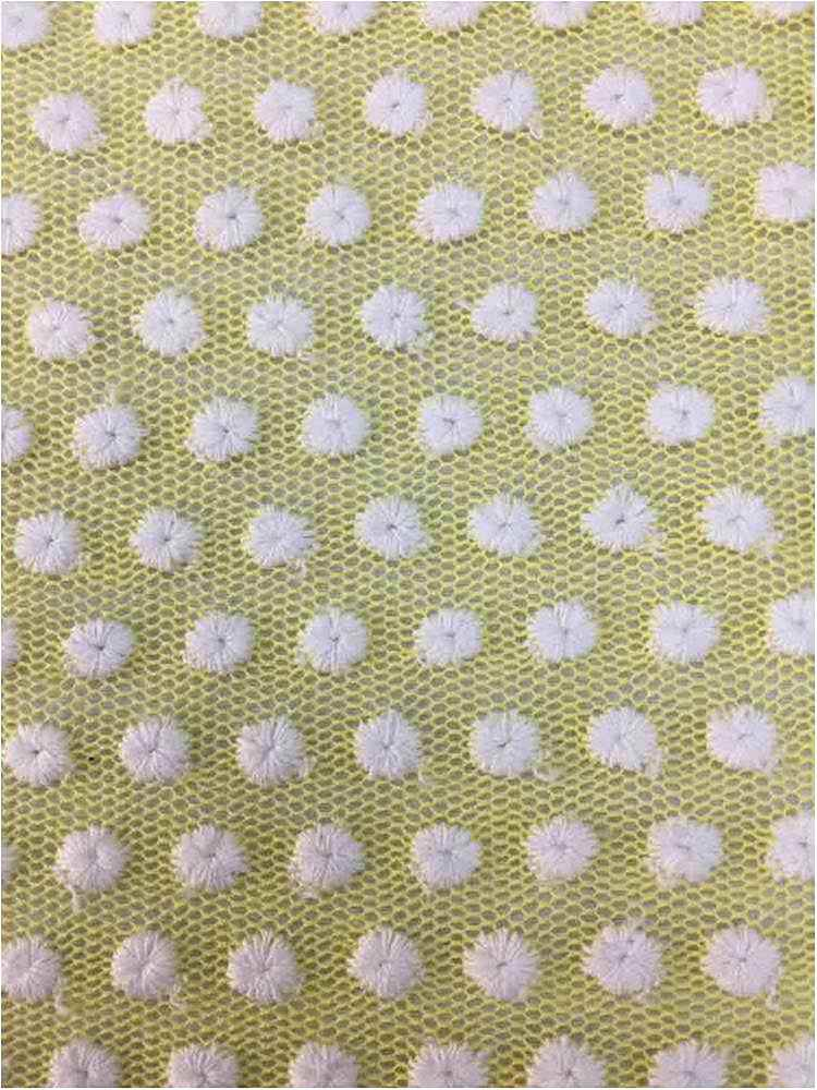 BTMH-A696 / YELLOW/IVORY / 55 COTTON/45 POLY