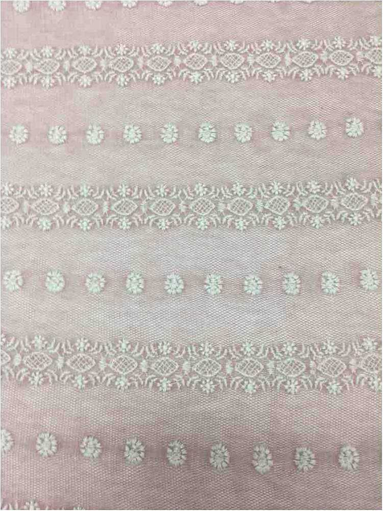 BTMH-A693 / PINK/IVORY / 75 COTTON/25 POLY