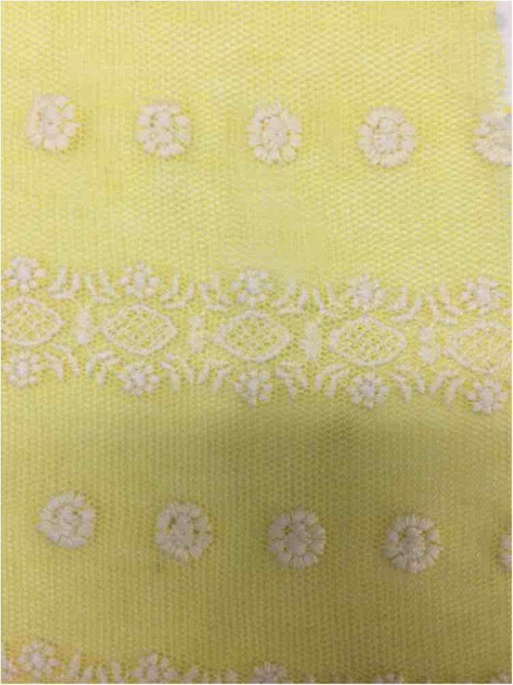 BTMH-A693 / YELLOW/IVORY / 75 COTTON/25 POLY