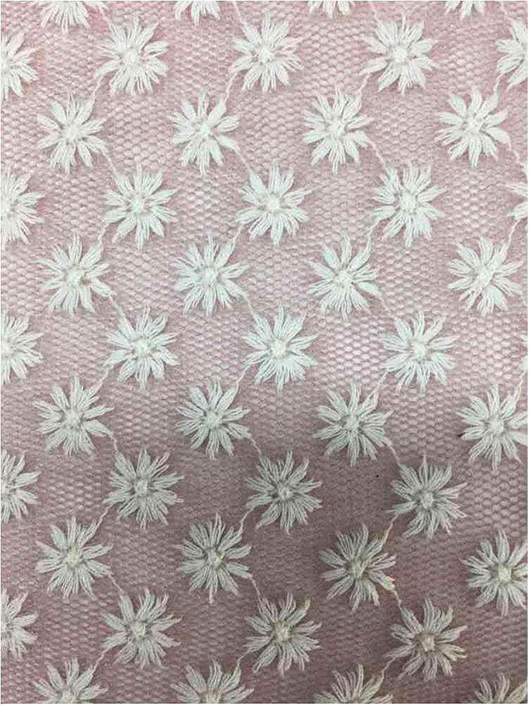 BTMH-A700 / PINK/IVORY / 55 COTTON/45 POLY