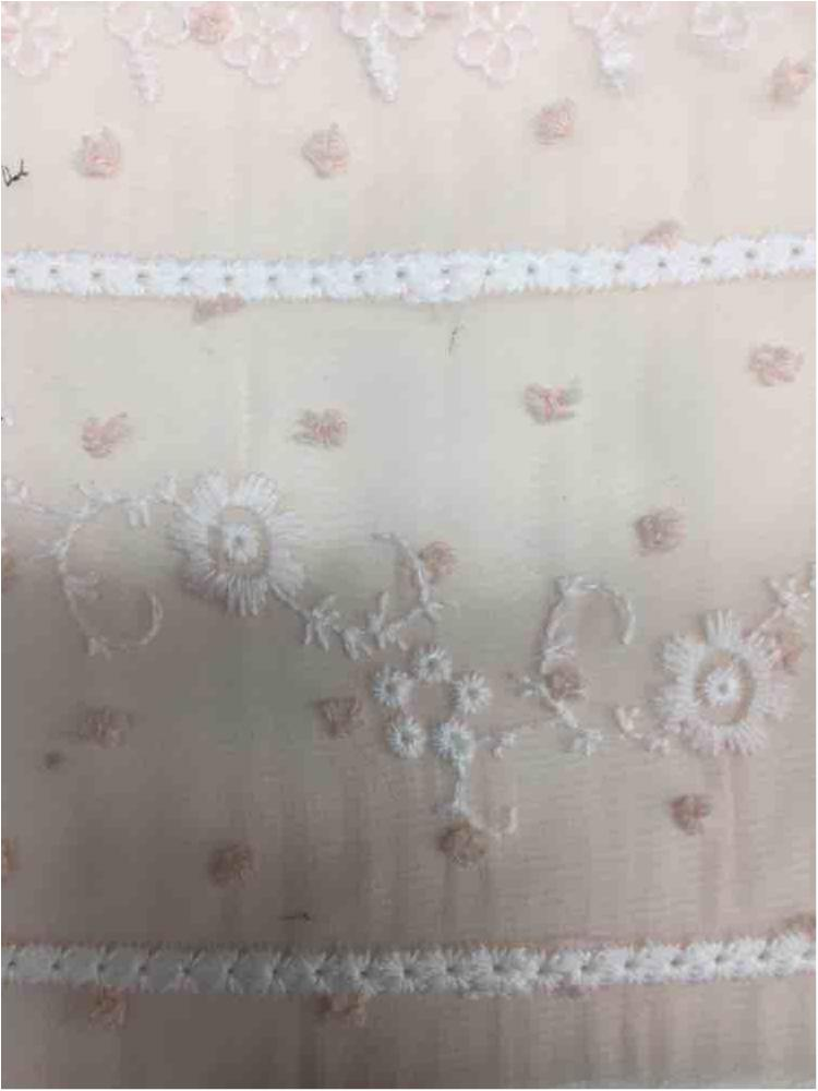 BTMH-A2854 / PINK/WHITE / 100% POLYESTER