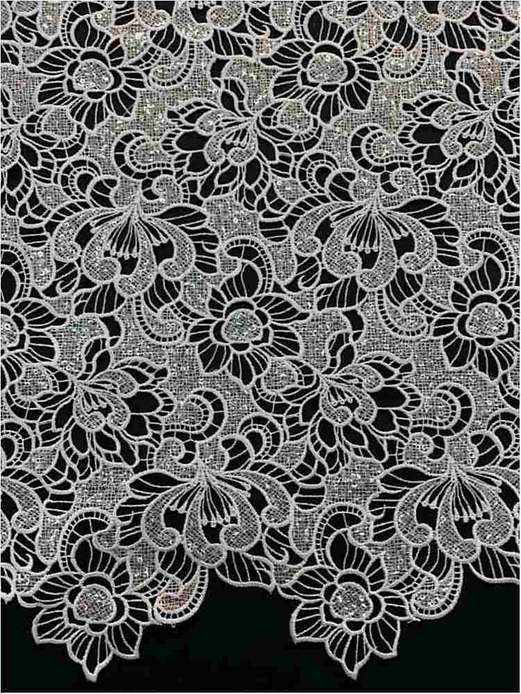 SSCLCKL910-1170 / WHITE/SILVER / 100% POLYESTER