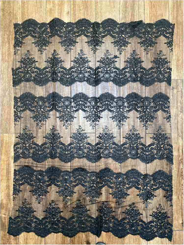 WTYX1307G / BLACK / 100% POLYESTER -GALLOON OF 1307 TRIM