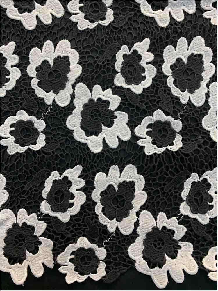 SSCLCMU99-1133 / BLACK/WHITE / 100% POLYESTER