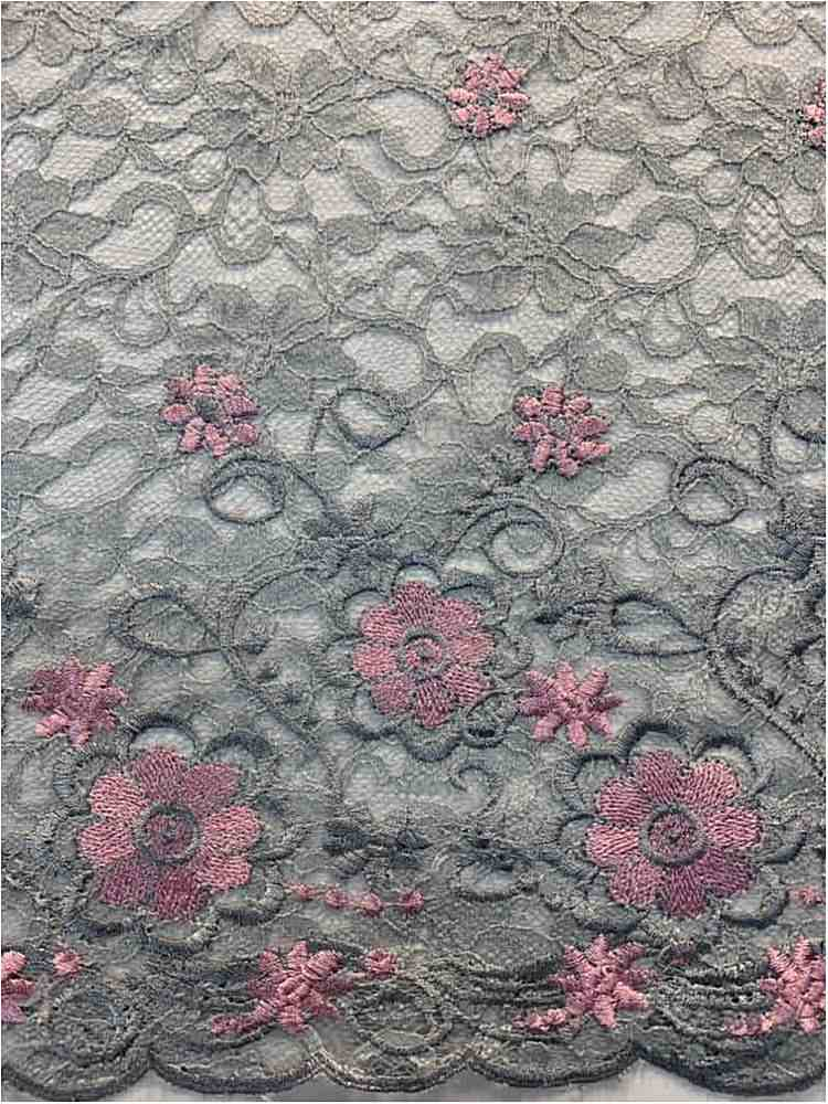WTYX-5451 / GREY/PINK / 100% POLYESTER