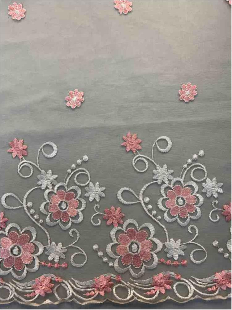 WTYX-2929 / IVORY/PINK / 100% POLYESTER