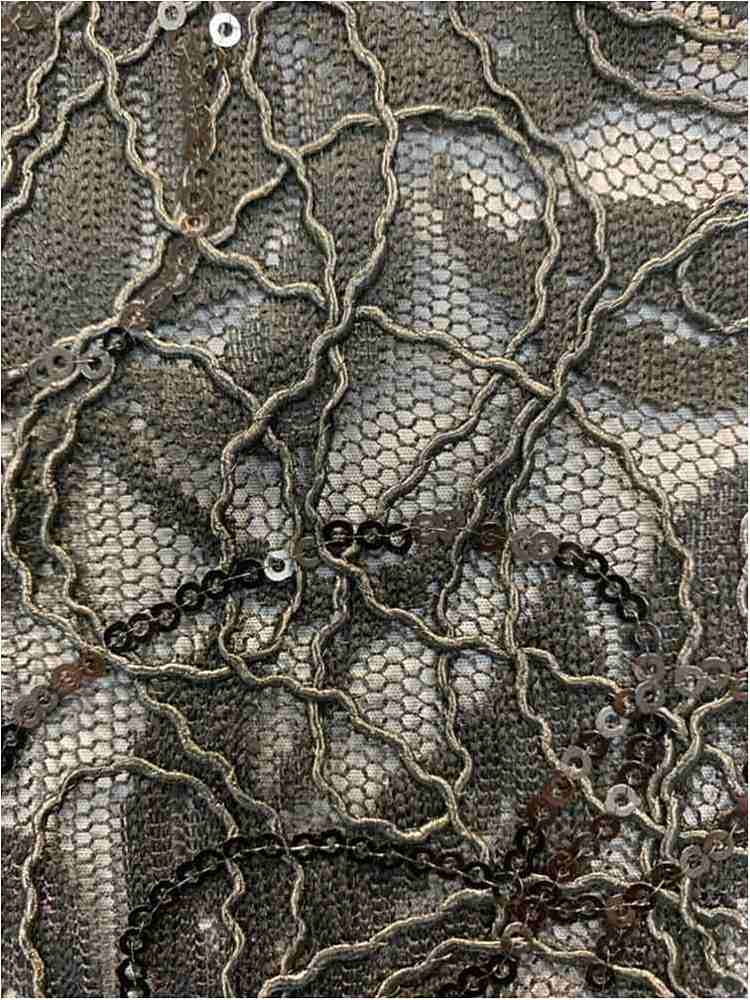 WTYX738-2 / BLACK / 100% POLYESTER LACE EMB
