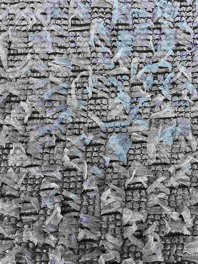 BTMH-A2658 / BLK/SLATE BLUE / 100% POLYESTER