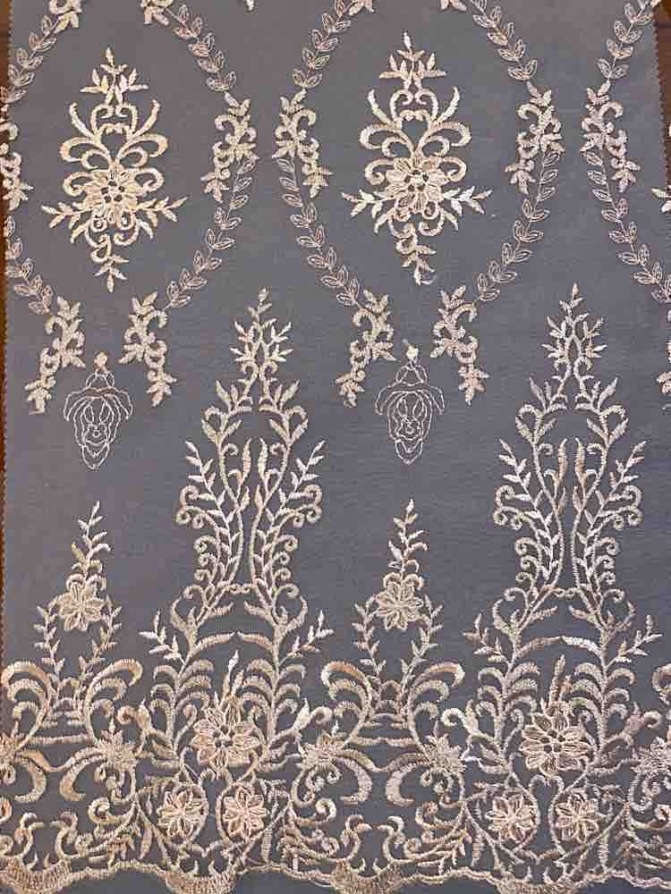 WTYX-1078 / MAUVE/IVORY / 100% POLYESTER