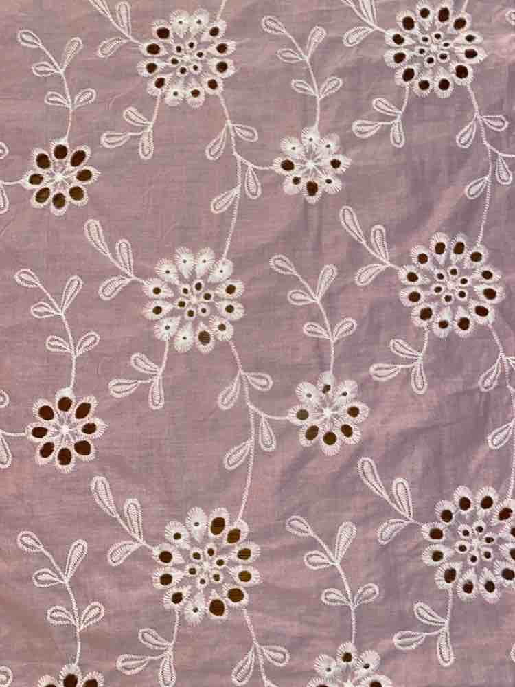 WTYX-3869 / PINK/IVORY / 100% COTTON