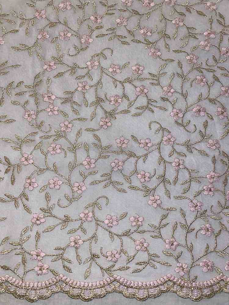 BTMH-A3200 / IVORY/PINK / 100% POLYESTER