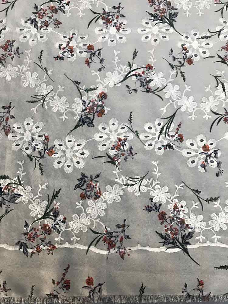 SSCCI2103-1939 / CHAMPAGNE/PRINT / 100% POLYESTER